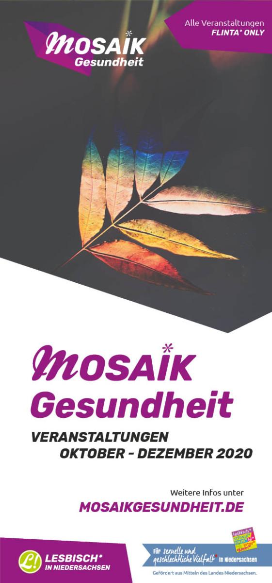 Flyer Plakat Veranstaltungen 2020 Titel